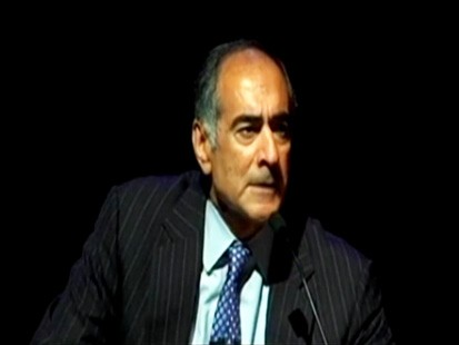 VIDEO: John Mack, at Wharton, recounts a testy exchange with the Treasury secretary.