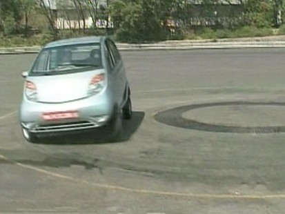 VIDEO: Karen Russo test drives the Tata Nano.