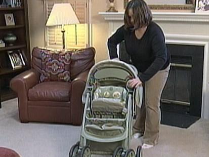 VIDEO: Graco is recalling 1.5 million strollers due to hinge dangers.