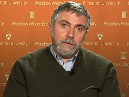 VIDEO: Paul Krugman on the Economy