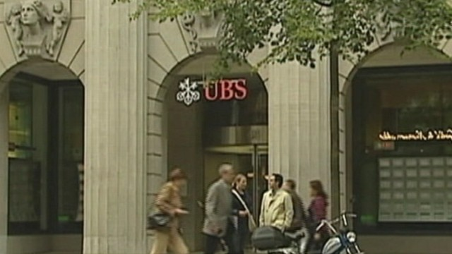 VIDEO: Swiss bank discovers unauthorized trading by one of its staff.