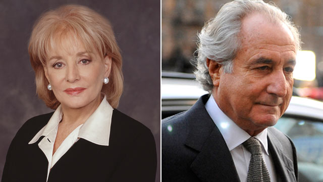 PHOTO: Barbara Walters interviewed Bernie Madoff at Butner Federal Corrections Complex.