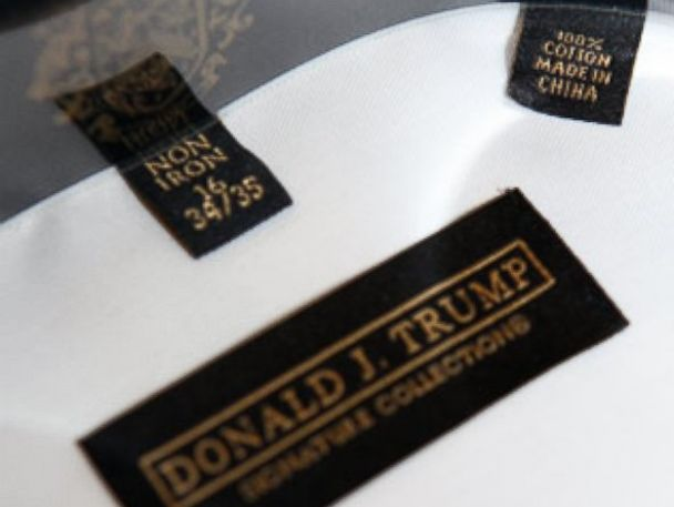 trump china donald why much clothing chinese too freedom label line collection goods crashed podcast markets sanders abc stealing accusing