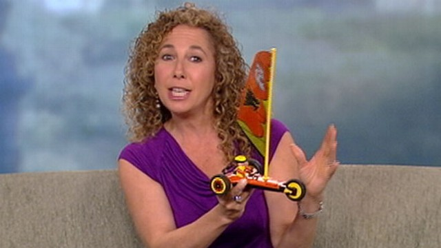 VIDEO: Laurie Schacht shows off cheap beach and pool toys for the season.