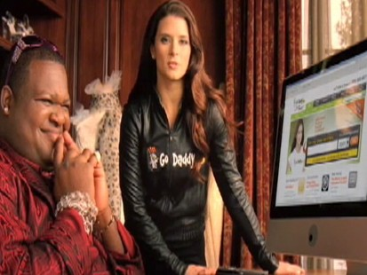 Video: GoDaddy.coms super bowl ad features Danica Patrick.