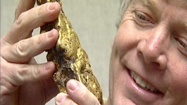 PHOTO:This Gold Rush era nugget that was sold for $460,000.