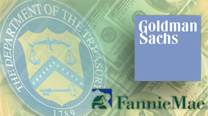 Treasury Could Block Goldman-Fannie Deal