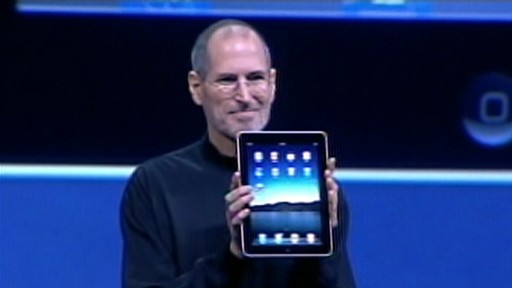 VIDEO: Steve Jobs gives an overview of Apples iPad.