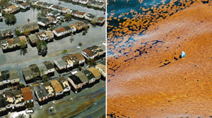 Katrina vs Gulf Coast oil spill