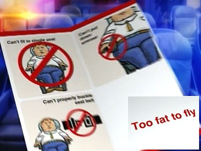 Video: United airlines plans to charge overweight passengers.