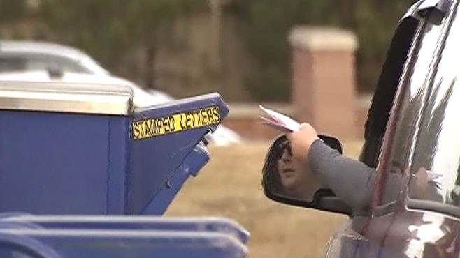 VIDEO: Denver, Colorado, District Attorney tells people not to use the mail for checks.