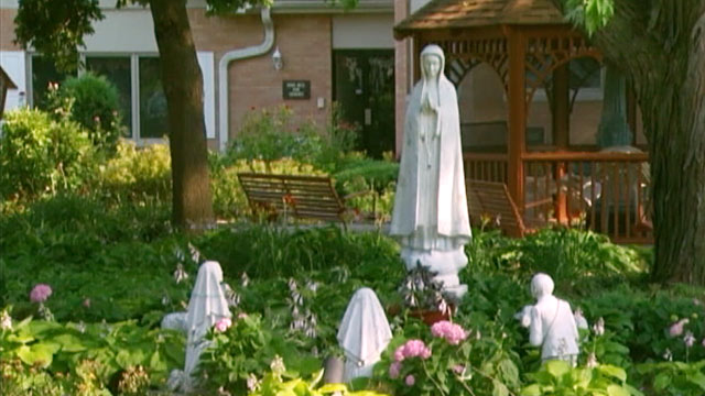PHOTO: Illinois convent next to strip club
