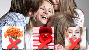 Photo: What Mom?s Really Want for Mother?s Day: Spas, jewelry and flowers aren?t top gifts. Recessionary wishes: family time.