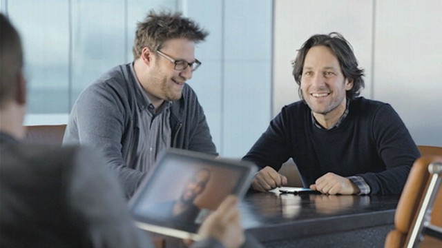"VIDEO: ""The Big Pitch"" commercial also features Paul Rudd, Seth Rogen and Bob Odenkirk."