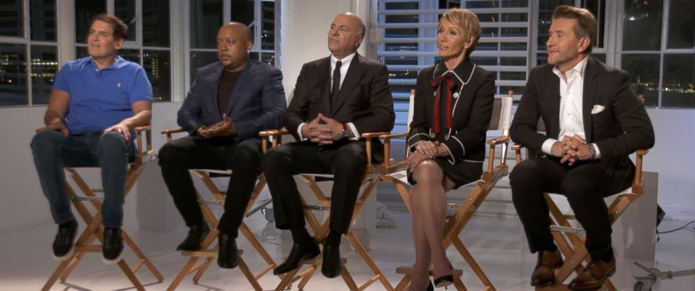 "The sharks of ABCs ""Shark Tank"" appear during an interview for ABC News ""20/20."""