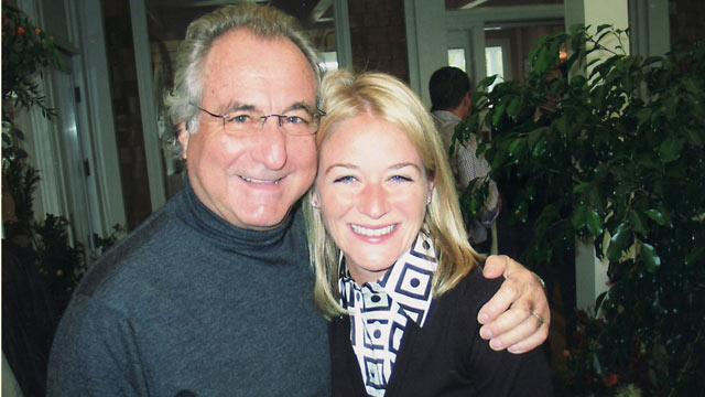 Bildmarke Madoff Frau, Drogenmädchen werden sexy