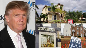 Trumps Advice for Todays Economy: Buy Real Estate
