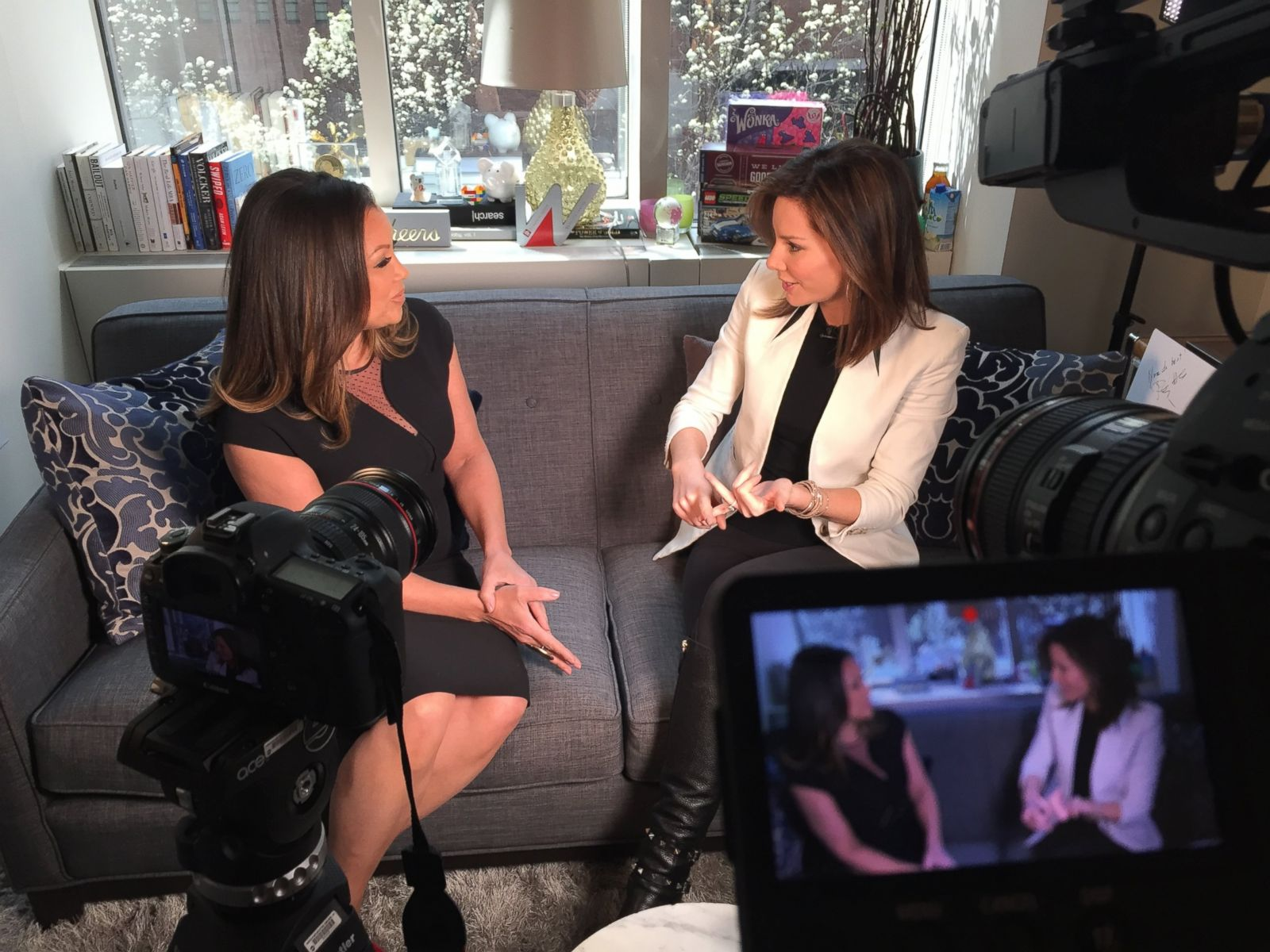 Vanessa Williams Talks Career, Miss America and the Best Revenge With Rebecca Jarvis