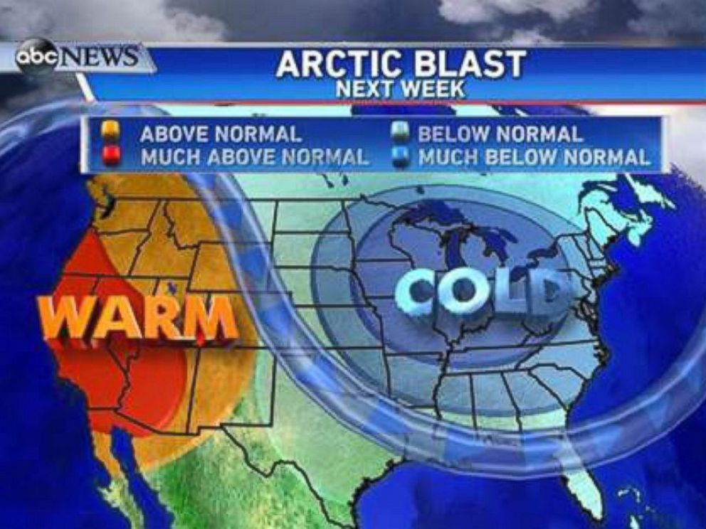 PHOTO: This very strong storm will also indirectly affect the mainland US in the form of extreme temperatures.