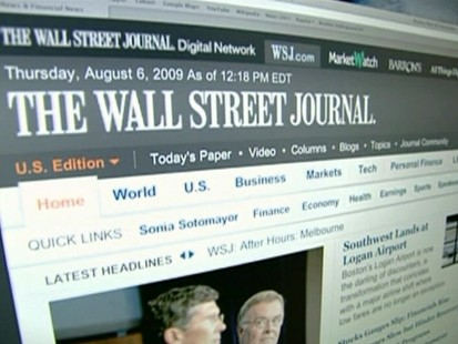 VIDEO: News Corp. plans to charge for online news.