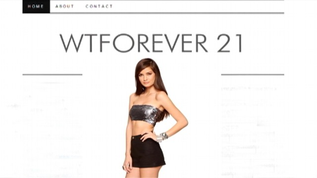 VIDEO: Department store sends cease and desist letter to WTForever21.com creator.
