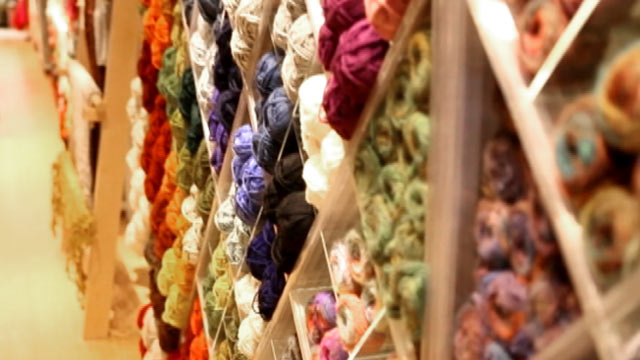 PHOTO: Lion Brand Yarn in New Jersey has turned to Export Now, an Amazon.com-like company in China, to get its yarn products to Chinese consumers.