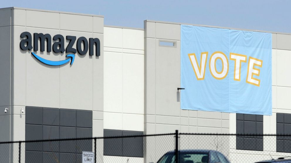 Amazon warehouse workers in Alabama vote not to form a union