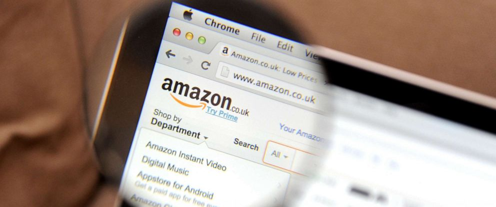 PHOTO: This file photo shows the Amazon website.