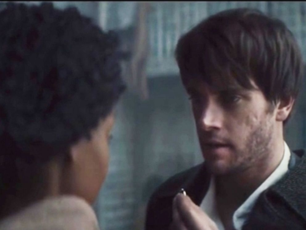 PHOTO: A mixed-race couple from the slavery era is depicted in an Ancestry DNA testing commercial titled, Inseparable.