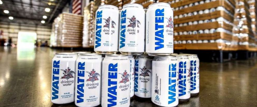 According to the company, Anheuser-Busch is sending six truckloads (more than 300,000 cans) of emergency canned drinking water to local communities in North Carolina, South Carolina, and Virginia in preparation for Hurricane Florence.