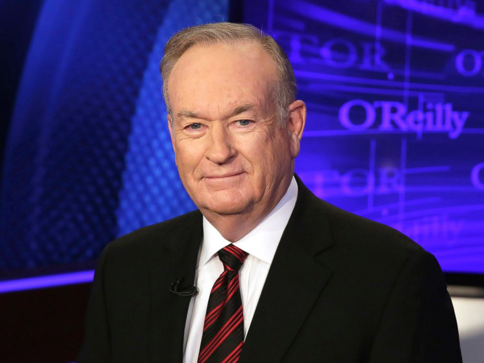 PHOTO: Bill OReilly of the Fox News Channel program The OReilly Factor, poses for photos in New York, Oct. 1, 2015. OReilly did not discuss harassment allegations detailed against over the weekend in his first show back at work, April 3, 2017.