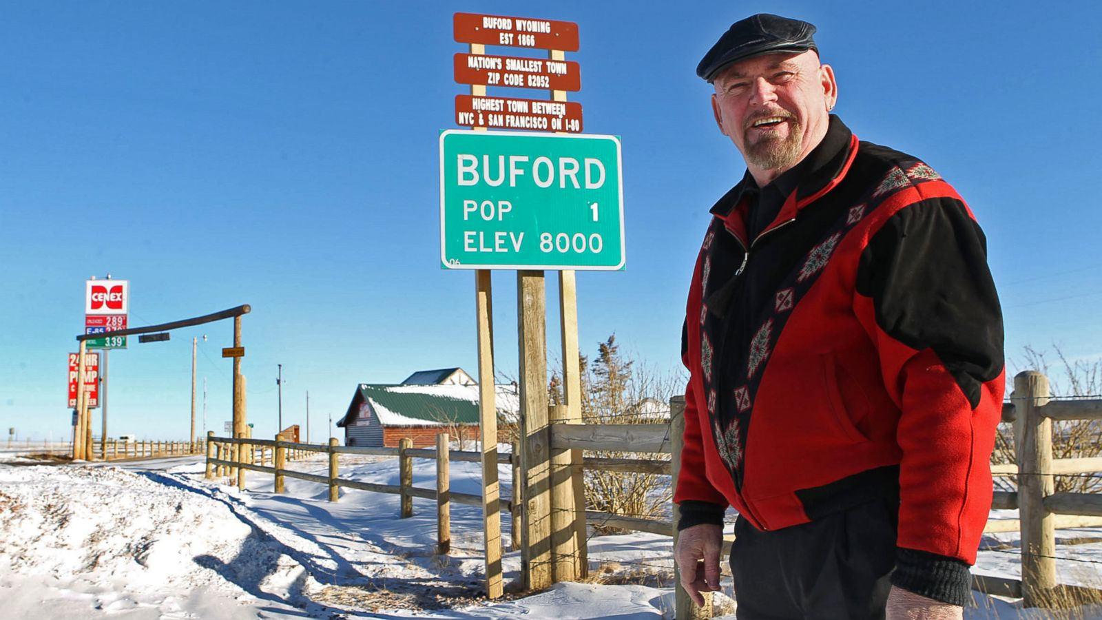 Buford Wyo And Other Towns For Sale Abc News