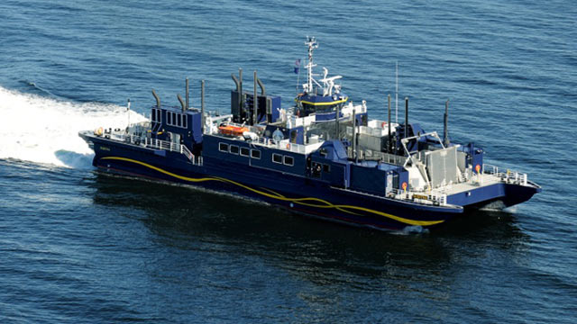 PHOTO: High-tech ferry