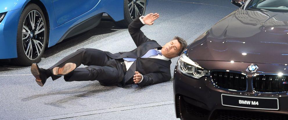 BMW CEO Harald Krueger Collapses At Frankfurt Auto Show ABC News - Bmw car show