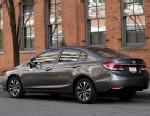 PHOTO: A 2013 Honda Civic is shown in Detroit, Nov. 27, 2012.