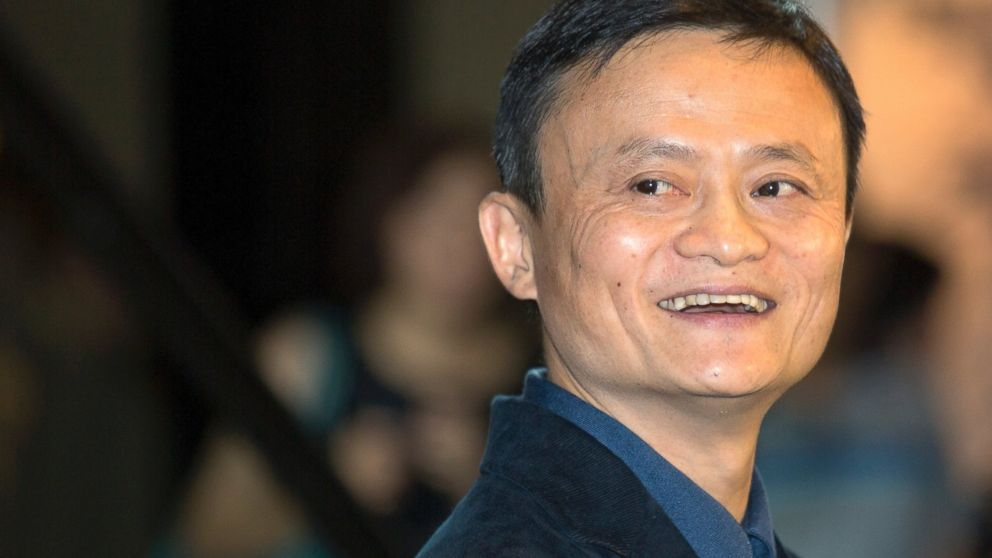 Alibaba Group founder and Executive Chairman Jack Ma smiles before an IPO road show at a hotel in Hong Kong, Sept. 15, 2014.