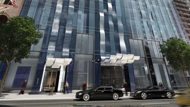 PHOTO: ONE57, New York City's news landmark building.