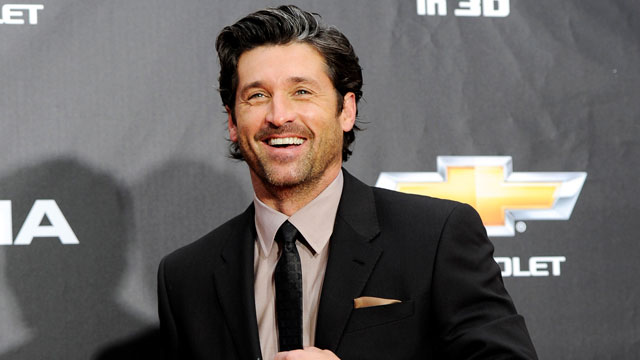 """PHOTO: Patrick Dempsey attends the """"Transformers: Dark Of The Moon"""" premiere in Times Square in New York, June 28, 2011."""