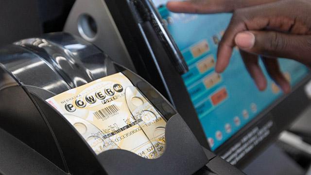 PHOTO: Powerball ticket