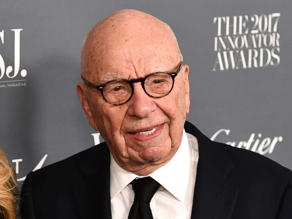 PHOTO: Rupert Murdoch attends the WSJ. Magazine 2017 Innovator Awards at The Museum of Modern Art on Wednesday, Nov. 1, 2017, in New York.