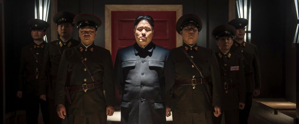 "PHOTO: Randall Park portrays North Korean leader Kim Jong Un in Columbia Pictures ""The Interview"" in this undated photo provided by Columbia Pictures - Sony."