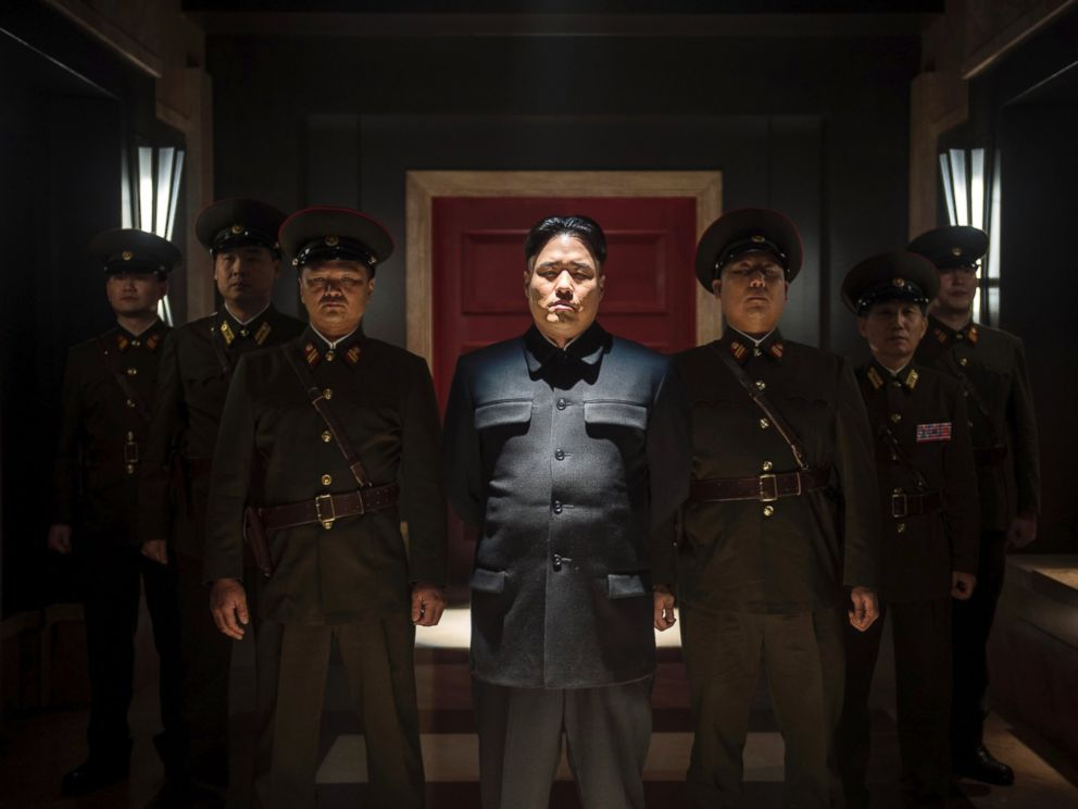 PHOTO: Randall Park portrays North Korean leader Kim Jong Un in Columbia Pictures The Interview.