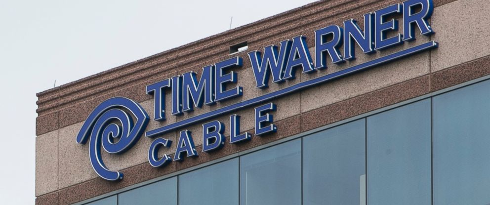 PHOTO: A Logo Sign Outside Of An Office Building Occupied By Time Warner  Cable Enterprises