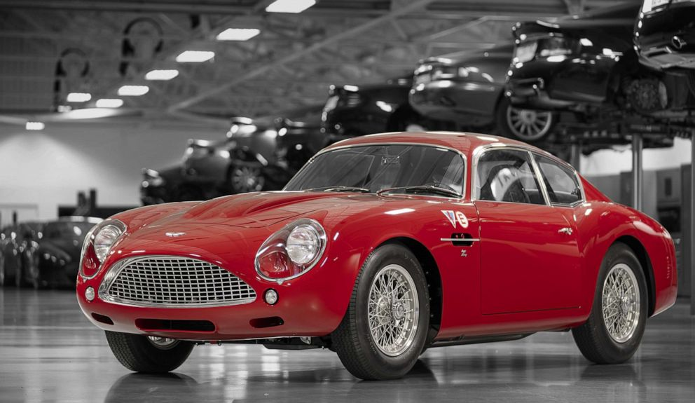 PHOTO: The all-new Continuation DB4 GT Zagato is one of several continuation cars Aston Martin has decided to produce in limited quantities.