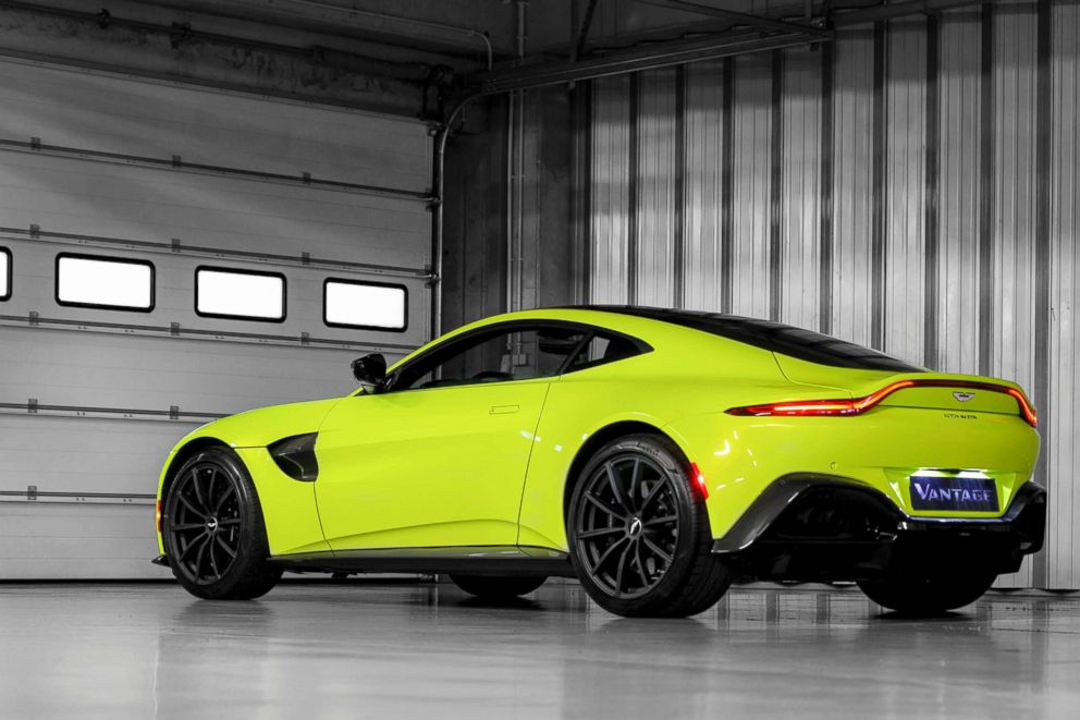 PHOTO:The Aston Martin Vantage. The British automaker is unveiling seven new cars for the next seven years as part of its Second Century Plan.