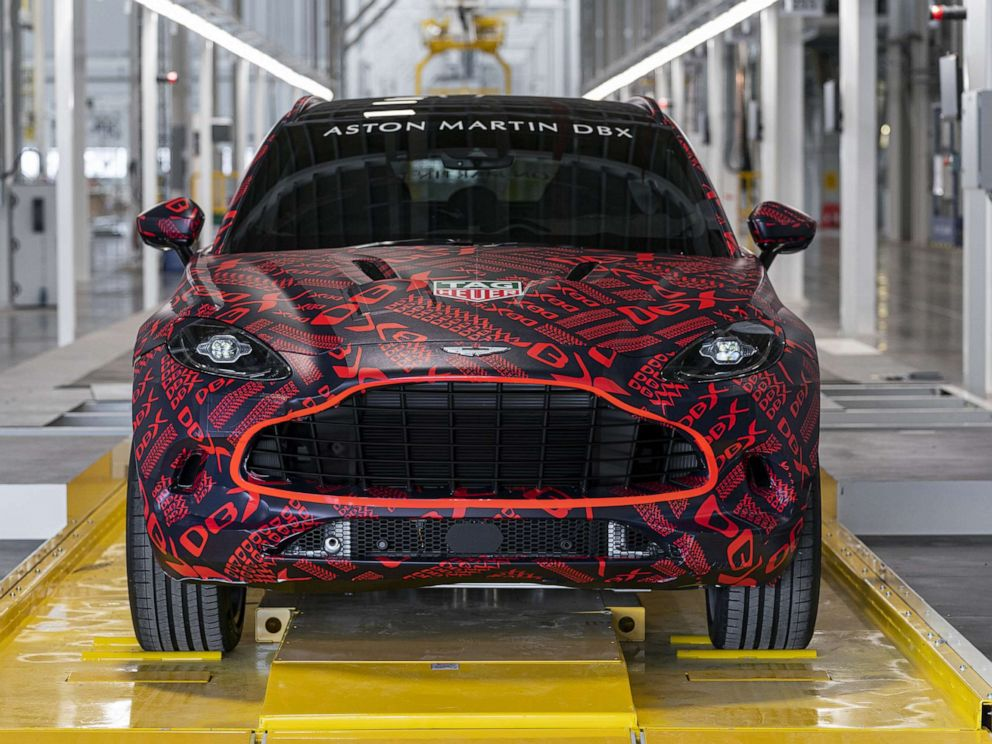 PHOTO: Aston Martins first-ever SUV, the DBX, could become the British marques best-selling vehicle.