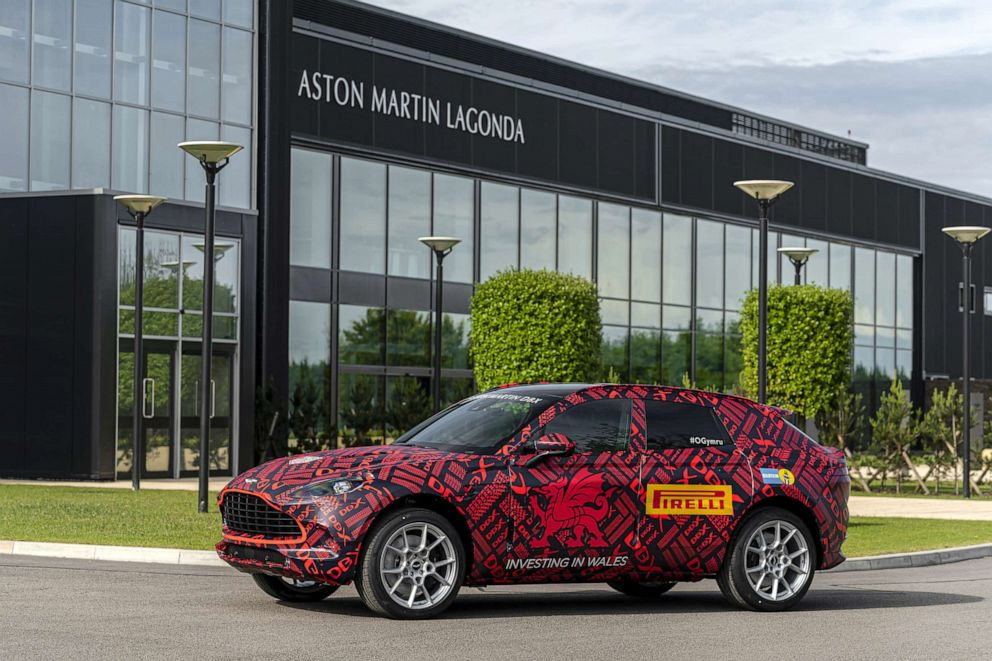 PHOTO: Aston Martin built a brand new factory in Wales for its DBX SUV.
