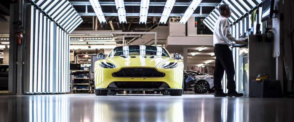 PHOTO: A DB11 seen here at the automakers Gaydon, England, factory.