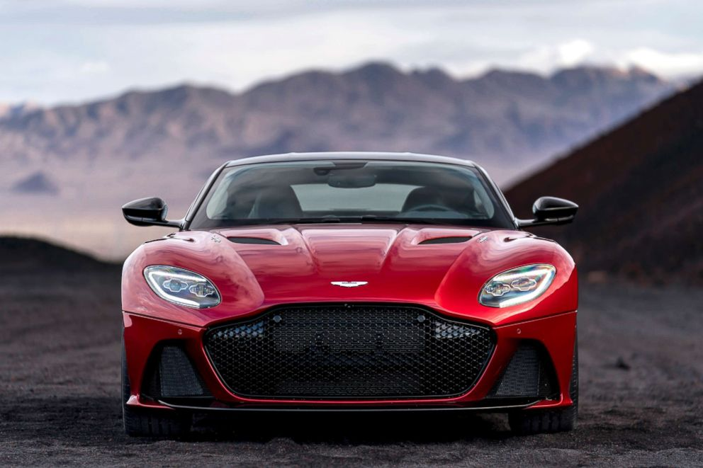 Aston Martin's DBS Superleggera reportedly can reach zero to 60 mph in 3.2 seconds.