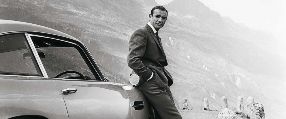 "PHOTO: Sean Connery starred as the fictional spy James Bond in the 1964 hit, ""Goldfinger."""